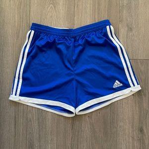 Adidas Blue Shorts Climacool | Small Womens